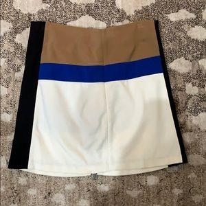 Diane von Furstenberg DVF Colorblock Skirt